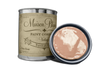 Dixie Rose - Quart of orange pink chalk paint. Quart of orange pink furniture paint.