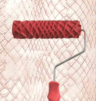 Fish Net Roller - decorative roller