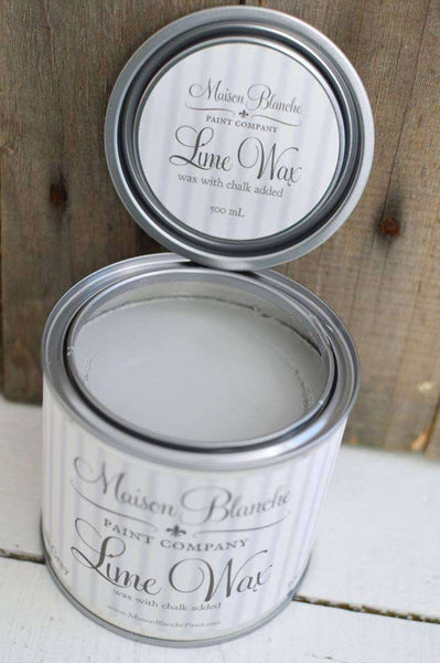 Chalk Gray Lime Wax - Maison Blanche Paint Company
