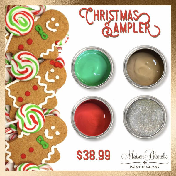 Christmas Sampler - Maison Blanche Paint Company