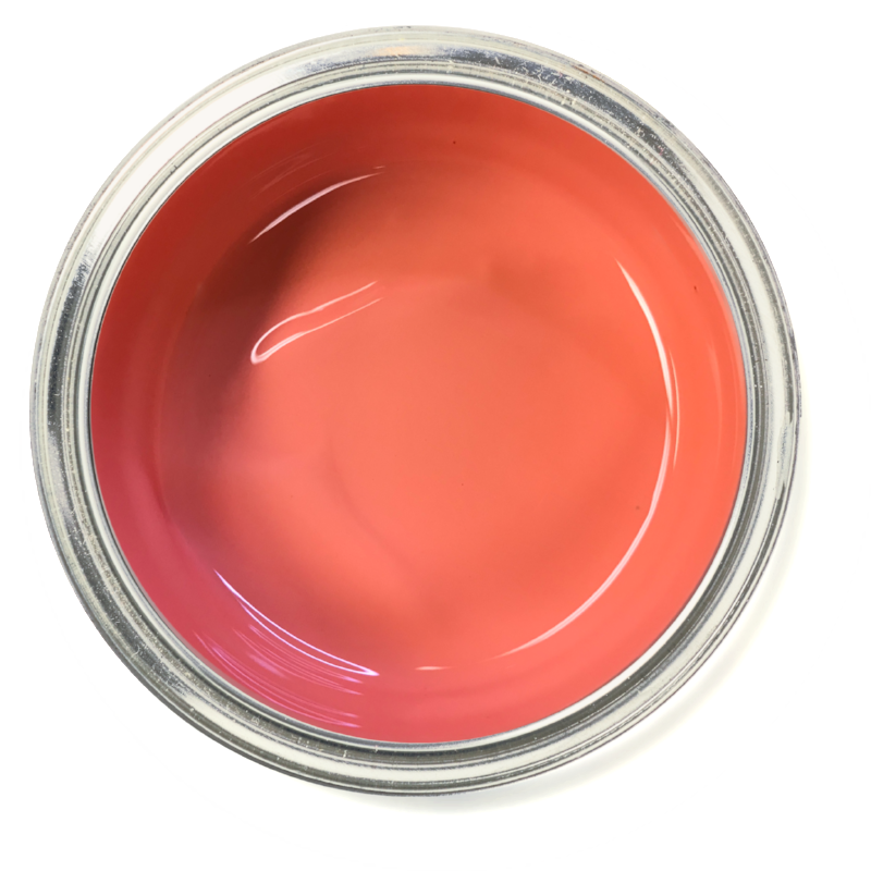 Candied Coral - Pink furniture paint. coral furniture paint. chalk paint. Easy to use furniture paint. Home decor trends