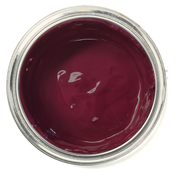 Bordeaux - Burgundy Chalk Paint. Red furniture paint. Easy to use furniture paint.
