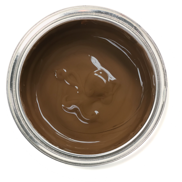 Chocolat - Brown chalk paint. Brown furniture paint. Easy to use paint.