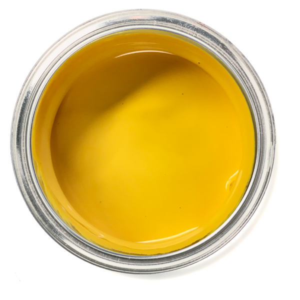 Goldenrod - sunflower yellow furniture paint. sunflower yellow chalk paint.