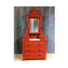 Cayenne - Red painted furniture. DIY furniture. Upcycled furniture.