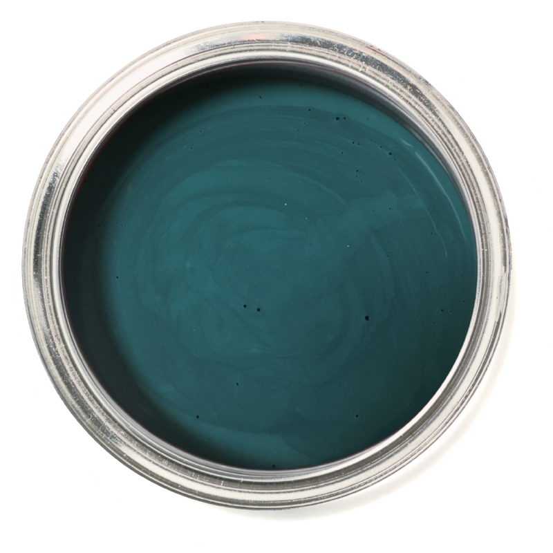 Dumpster Diva - Emerald chalk paint. Emerald furniture paint.