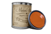 Cayenne - Can of red furniture paint. Quart of furniture paint. Chalk paint can. Quart of chalk paint.