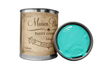 Colette - Quart of turquoise chalk paint. quart of turquoise furniture paint. can of paint