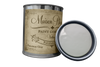 Franciscan Gray - Quart of gray furniture paint. Quart of gray chalk paint. Can of gray furniture paint. Can of gray chalk paint.