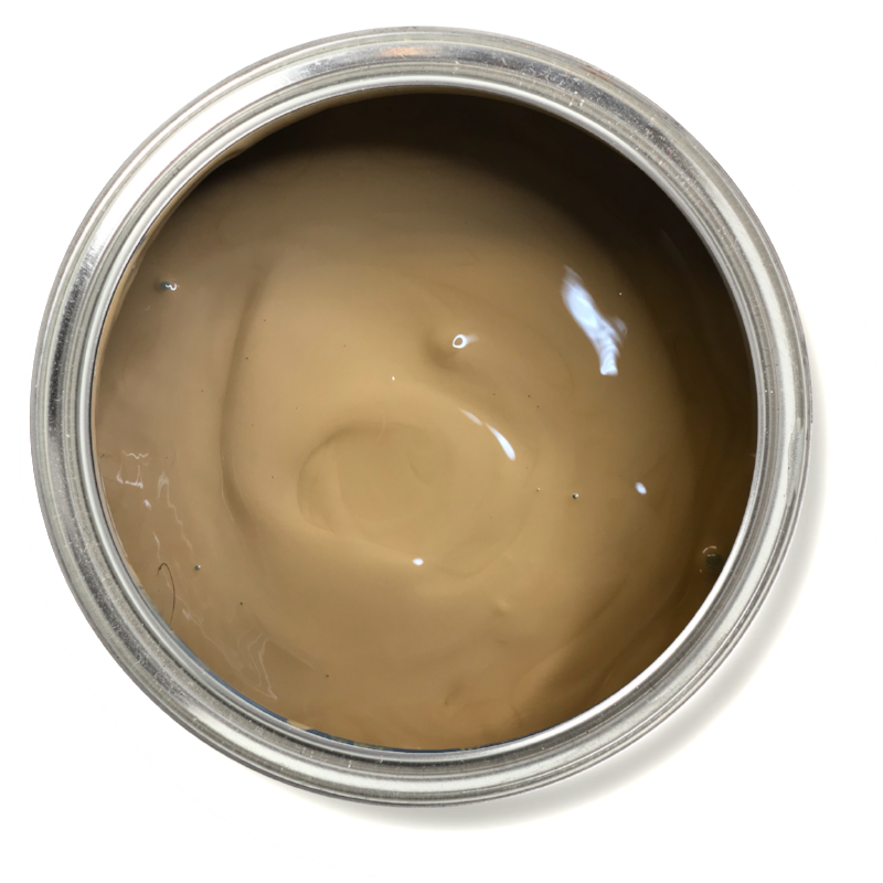 Gingerbread - Light brown furniture paint. Light brown chalk paint. Best paint for furniture.