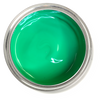green furniture paint. green chalk paint. can of green furniture paint. Quart of green furniture paint