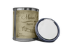 Ivory - Quart of white furniture paint. Quart of white chalk paint. Can of white furniture paint. Can of white chalk paint.
