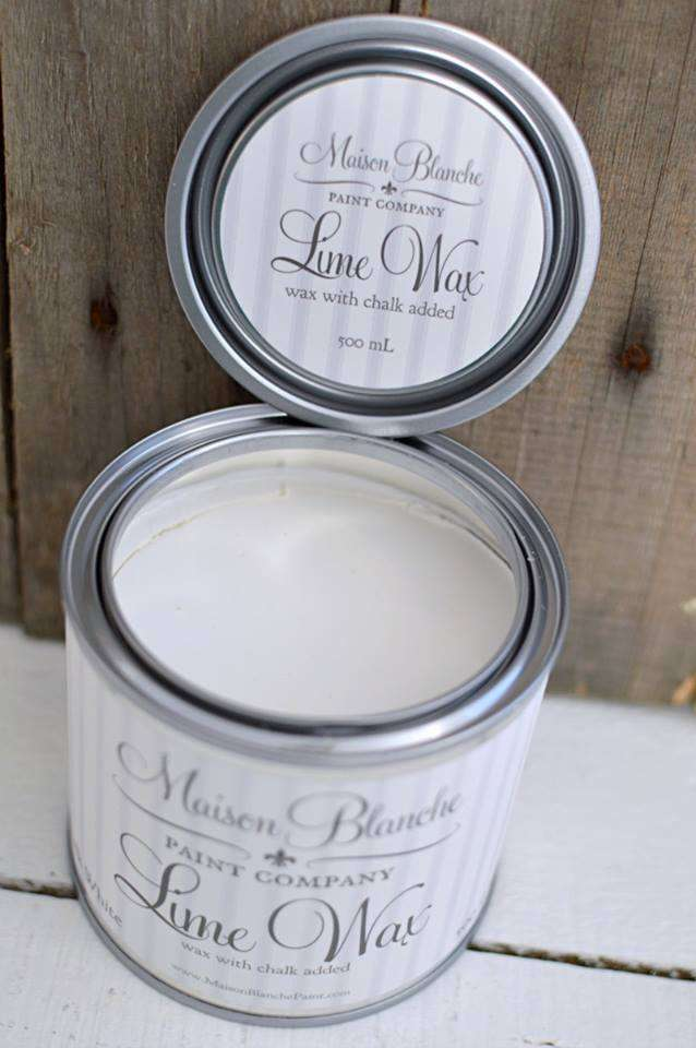 Chalk White wax - Maison Blanche Paint Company