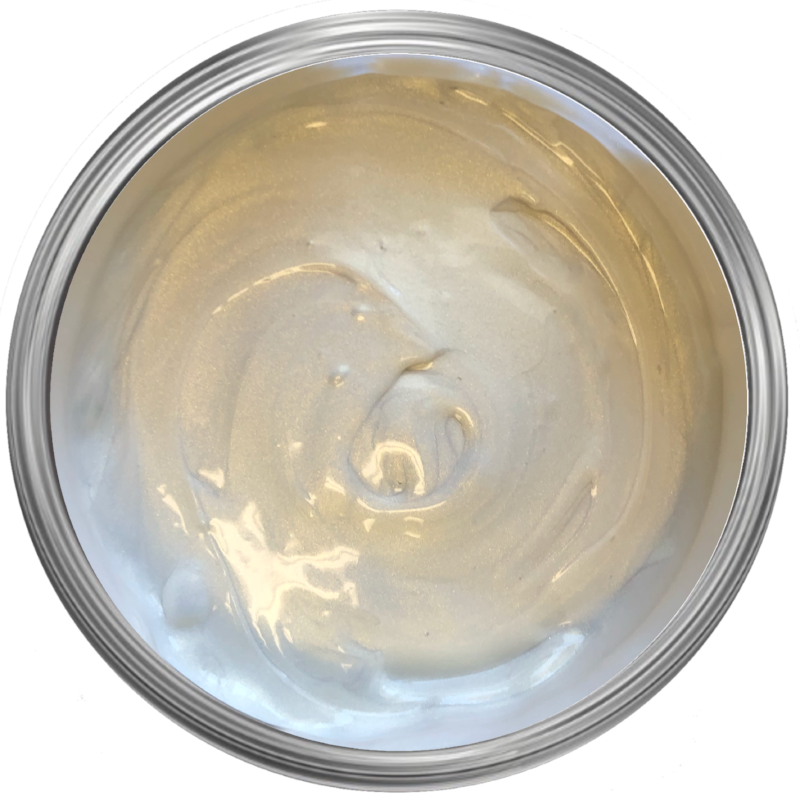 pearl gold metallic furniture wax. pearl effects on paint. metallic lustre. gilding wax. '