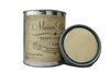 Quart of green furniture paint. Quart of green chalk paint. Can of green furniture paint. Can of green chalk paint.