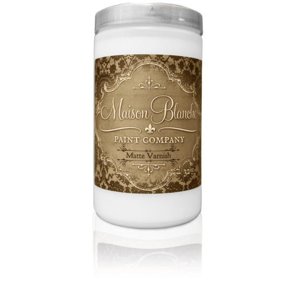 Matte Varnish Quart - Maison Blanche Paint Company
