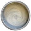 silver metallic furniture paint. silver metallic chalk paint. silver furniture paint.