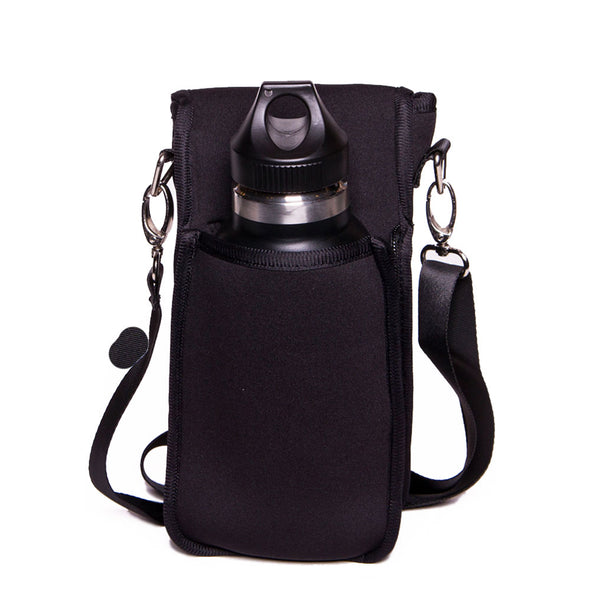 kangapro hiker - crossbody water bottle holder