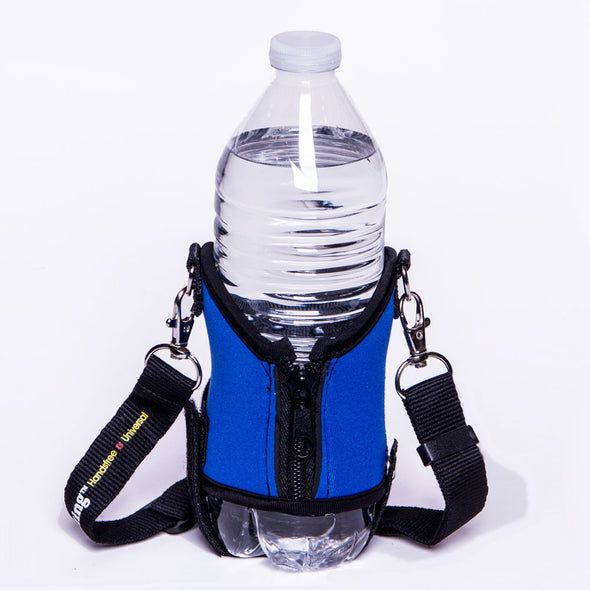 expandable beverage holder for any size drink - drink sling