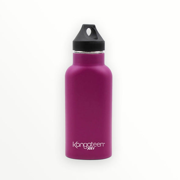 pink stainless steel insulated water bottle - kangateen