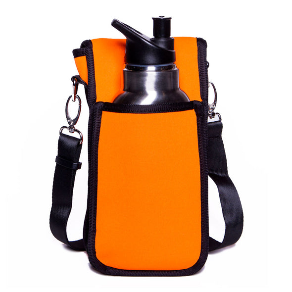 orange beverage holder for kids