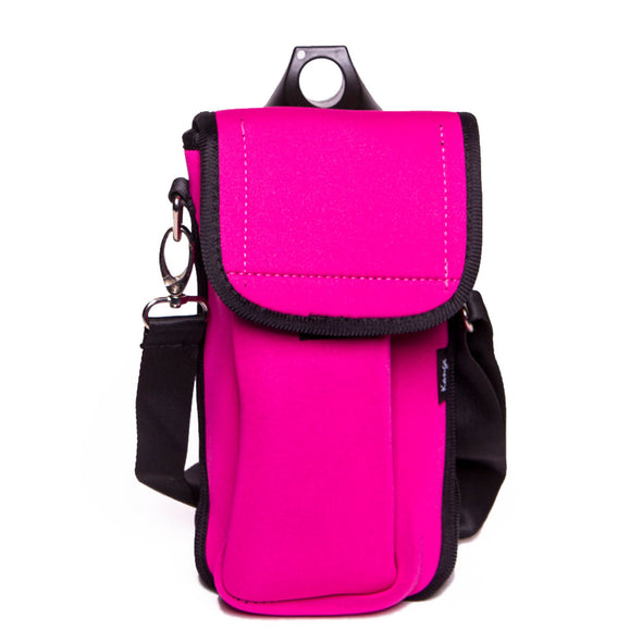 lightweight pink hiking pouch for kids
