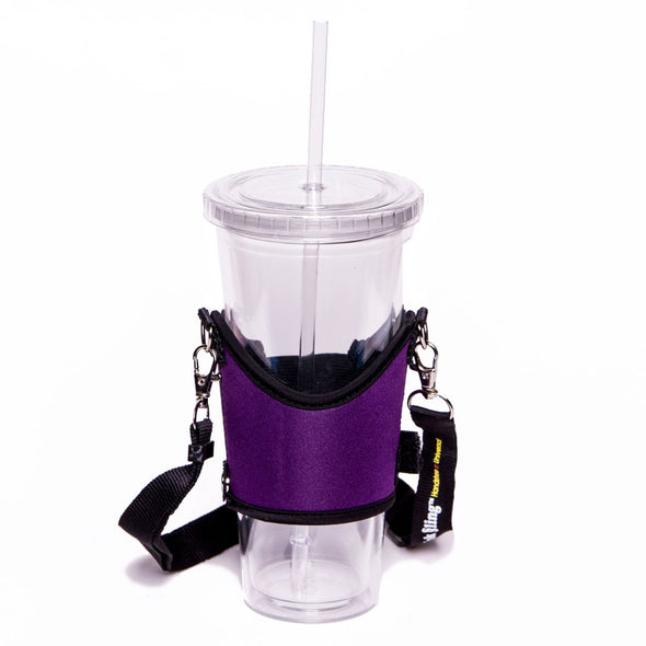 purple drink sling - universal beverage holder