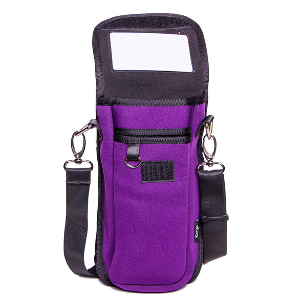 crossbody id holder + pouch for hikers