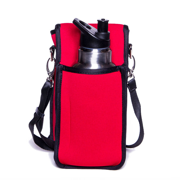 red water holder for hiking