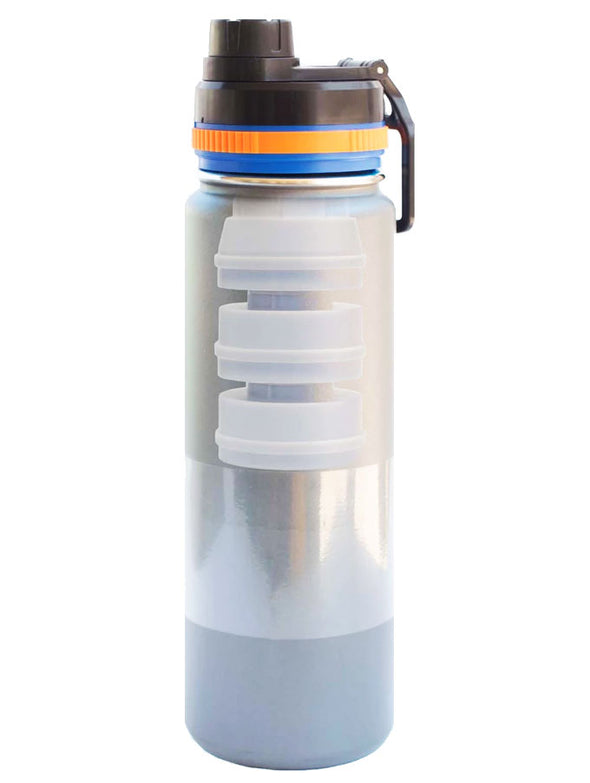 Tap water filter for water bottle