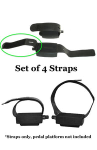 DeskCycle Replacement Pedal Straps