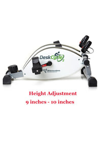DeskCycle 2 - New Under the Desk Cycle with Adjustable Height