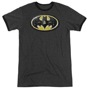 Batman - Bat Mech Logo Adult Heather