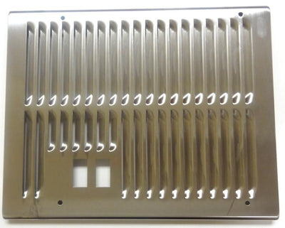 Crathco Right side New panel 2-holes Stainless Steel