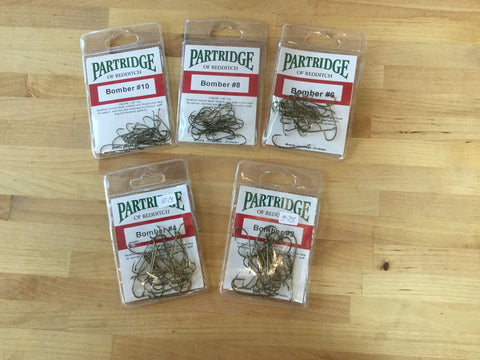 Hooks Partridge CS 42 Bomber pkg. 25