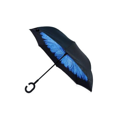 Inside-Out Folding Umbrella
