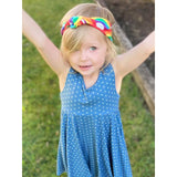 Daisy Blue Dress-Kids