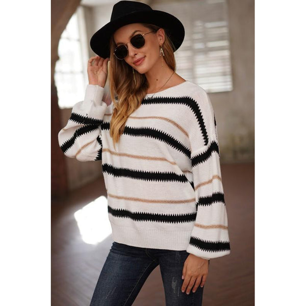Willow Striped Sweater