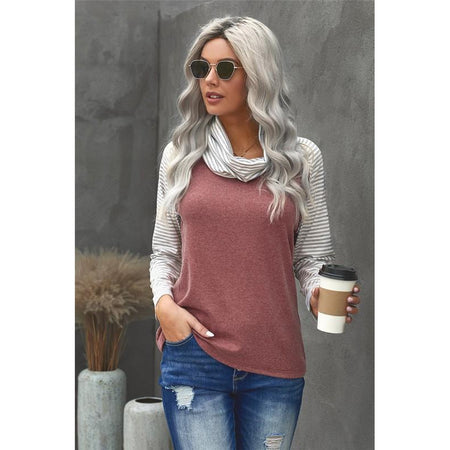 Lovey Heart Elbow Patch Top