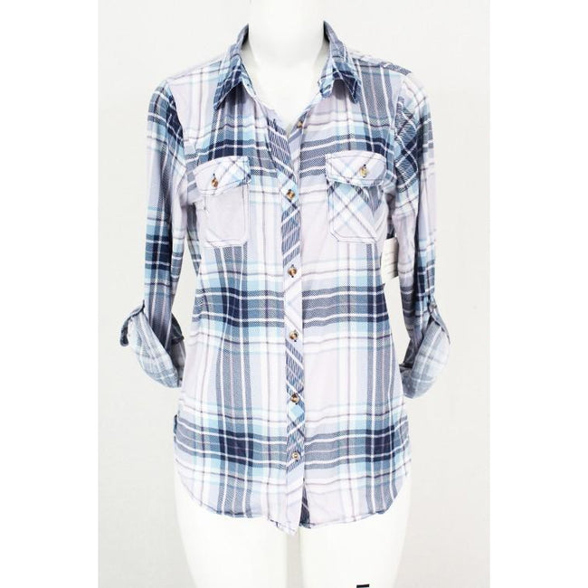Emily Flannel Button-up