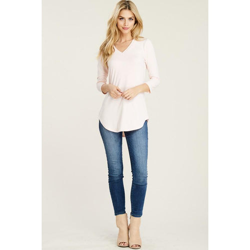 Magnolia V-Neck Basic Top