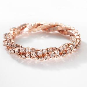 Blush Twisted Bracelet