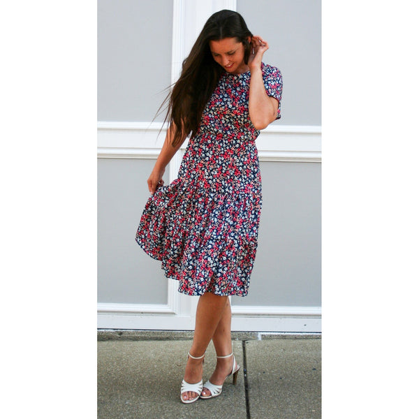 Edna Tiered Ruffle Dress