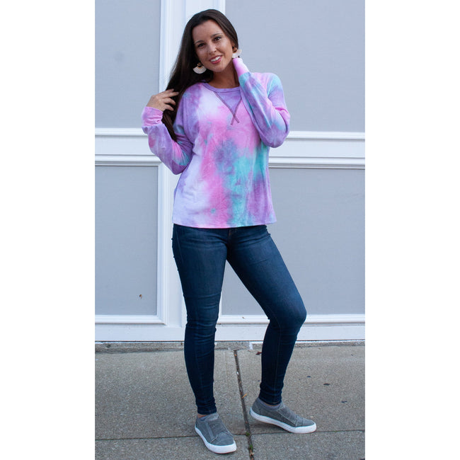 Ana Tie Dye Pullover