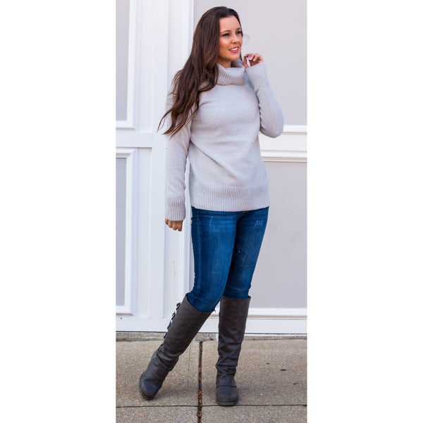 Tessa Cowl Neck Sweater
