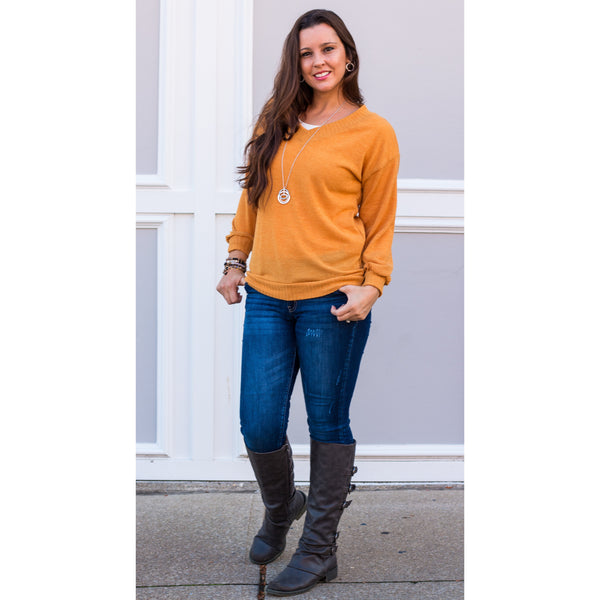 Finley V-Neck Sweater