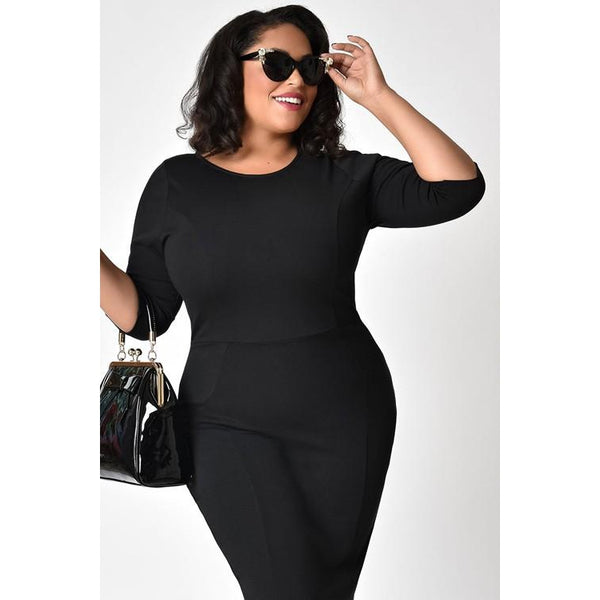 Kaleah Little Black Dress- Splurge Collection