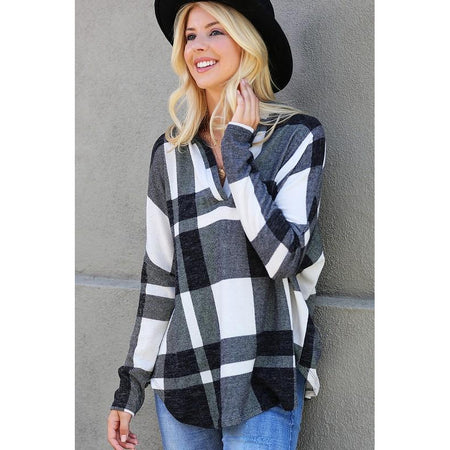 Theresa Plaid Tunic