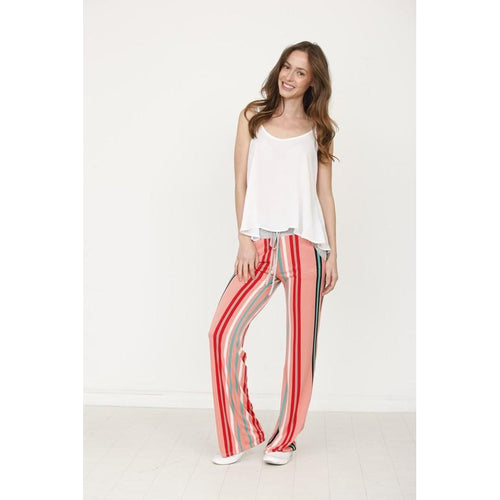 Margot Striped Culotte Pant
