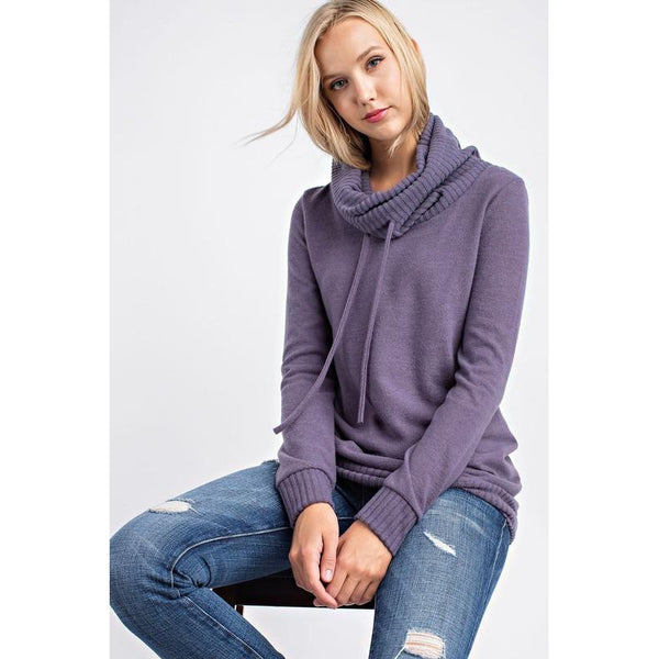 Maya Cowl Neck Sweater
